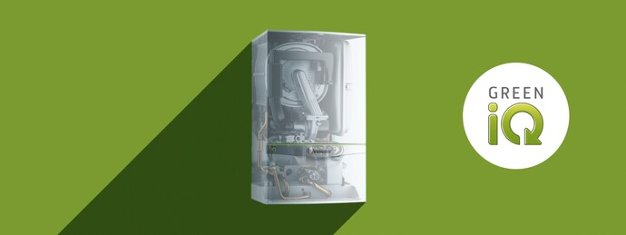 Gasfyr ecoTEC exclusive med Green iQ | Vaillant