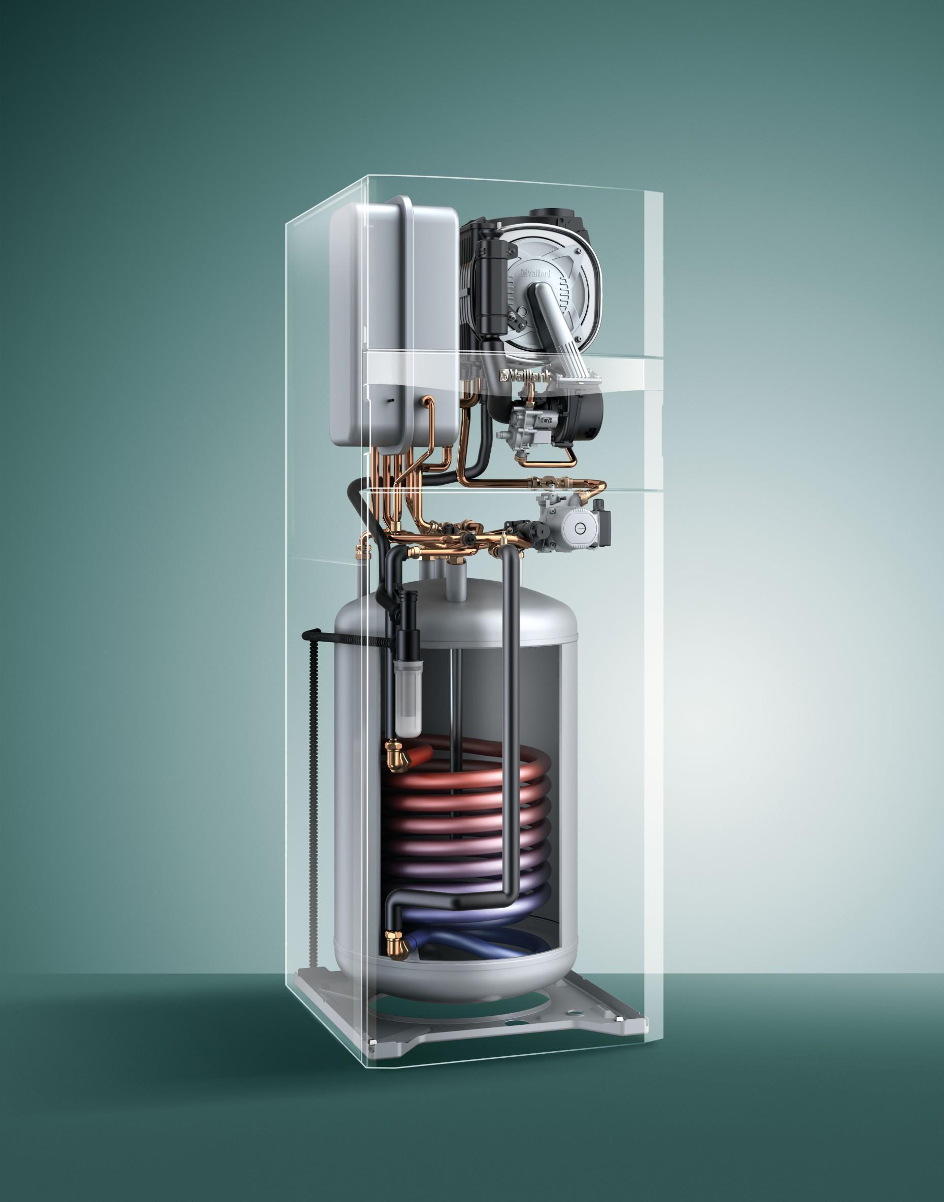 ecoCOMPACT kondenserende gasfyr med integreret varmtvandsbeholder - Vaillant